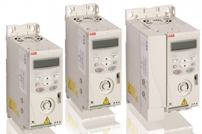 0.50 HP ABB ACS150 Micro Variable Frequency Drive with Integrated Line Filter, Speed Pot & Brake Chopper - ACS150-01U-02A4-2 by ABB
