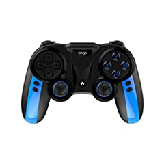 Bluetooth Gamepad Game Controller Joypad Direct Play PUBG iOS/Android Universal Feature:Product characteristic parameters:Product size: L150xW103xH60 mmProduct weight: 193±5gWorking voltage: DC3.7VWorking current: Quiescent current: Continuou...