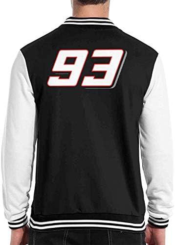 マルク・マルケス MotoGP バイク王 ベースボール服 メンズ レディース ベースボールジャケット シンプル 日常 春秋冬服