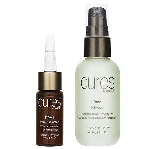 (Cures by Avance Line Refine Serum and Activator 2 oz.)