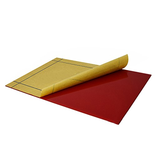 Cast Acrylic Sheet Red 12-Inchx12-Inchx0.197-Inch for Aquarium,Window,Display Rack,Signs,Light - Wellco Box