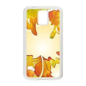 Autumn And Leaves Hight Quality Plastic Case for Samsung Galaxy S5