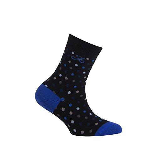 Achile Coton Modèle Motif chaussettes Maddy En Mi Bleu Pois RArRxw1q