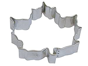 """R&M Canada Maple Leaf 5"""" Cookie Cutter in Durable, Economical, Tinplated Steel"""