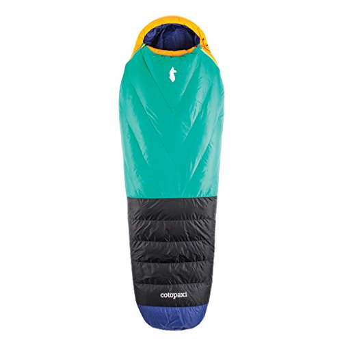 Cotopaxi Sueño Camp Sleeping Bag- Light Weight, 15 degree rating, Duck Down fill (cold weather) by Cotopaxi