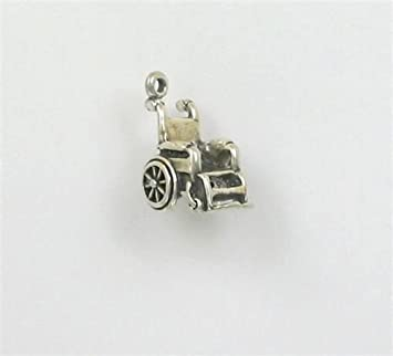 Sterling Silver 3-D Robot Charm