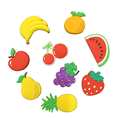 VLOOK Baby Magnets 3D Cartoon Fruits Fridge Magnets for Toddlers Magnetic Pre-School Toys for Refrigerator Whiteboard Kids Magnets