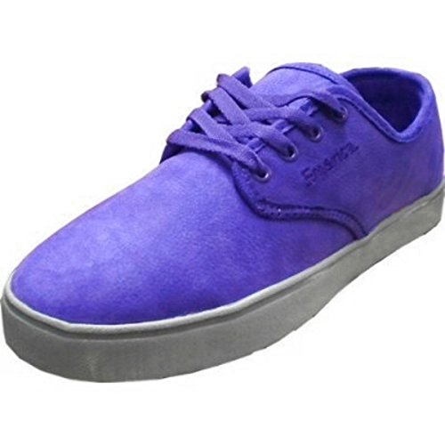 Grey Gaudy Emerica Shoes Skateboard Purple Laced OFOBwIxtq