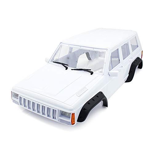 - INJORA Hard Plastic 12.3 Inch/313mm Wheelbase Cherokee Body Car Shell for 1/10 RC Crawler Axial SCX10 & SCX10 II 90046 90047 Traxxas TRX4 Kit # 82016-4