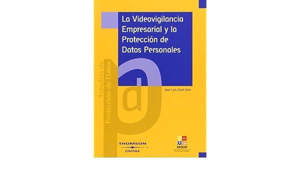 La videovigilancia empresarial y la protección de datos personales: Amazon.es: José Luis Goñi Sein: Libros