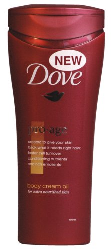 dove pro age body lotion