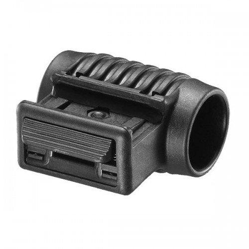 Mako Fab Defense Tactical 1 Inch Flashlight Side Mount, black