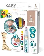 SES Creative 14491 Sophie La Girafe - Babymarkers
