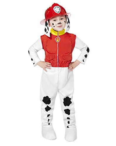 Spirit Halloween Toddler Paw Patrol Costume Deluxe - Marshall Red