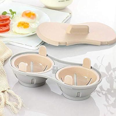 MSYR Utensilios de Cocina para cocer Huevos con microondas ...
