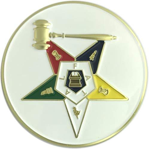 - Fratline Order of The Eastern Star Past Matron Auto Emblem