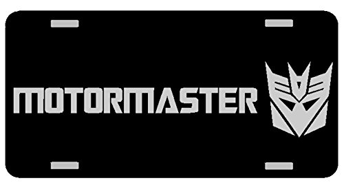 Transformers Deception MOTORMASTER License Plate Gloss for sale  Delivered anywhere in USA