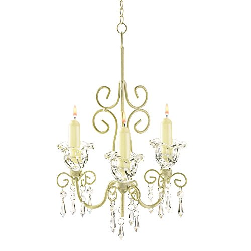 Gallery of Light Rustic Chandelier Candle, Antique Ivory White Metal Chandeliers for Candles