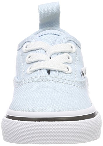 true baby Unisex Niños Q6k Lace Zapatillas Authentic Elastic Vans White Azul Blue wx7qTzUn
