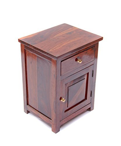 Induscraft Classy Bedside Cabinet Wooden Furniture Amazon In Home