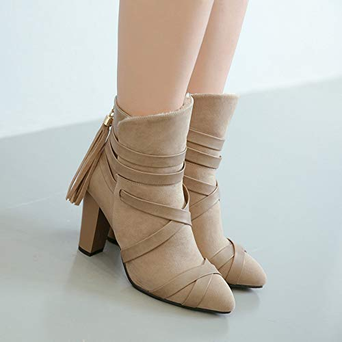 Chaussures Bottines Talons D'hiver Polp Femmes Avec Automne WEtY45xqw