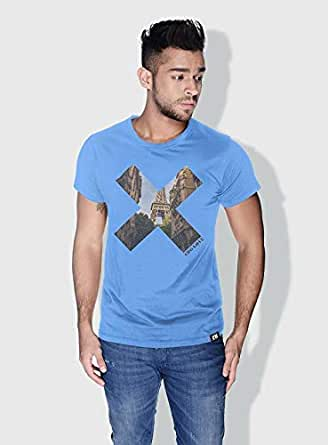 Creo Paris X City Love T-Shirts For Men - Xl, Blue