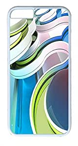 ACESR Abstract Curve iPhone 6 Hard Shell Case Polycarbonate Plastics Custom Case for Apple iPhone 6(4.7 inch) White hjbrhga1544