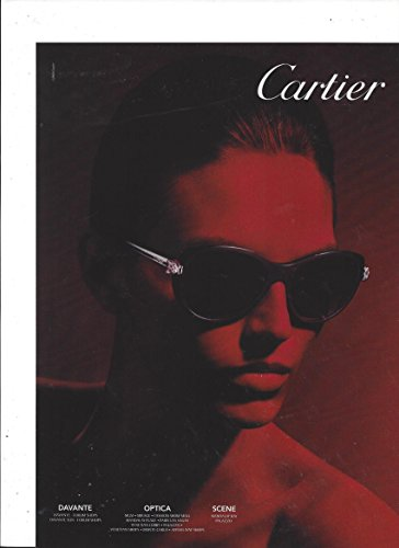 PRINT AD For 2014 Cartier - Sunglasses 2014 Of