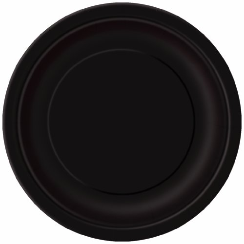 Black Paper Cake Plates, 20ct (Cake Ideas For Halloween Party)