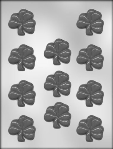 CK Products 2-Inch Shamrock Chocolate Mold -