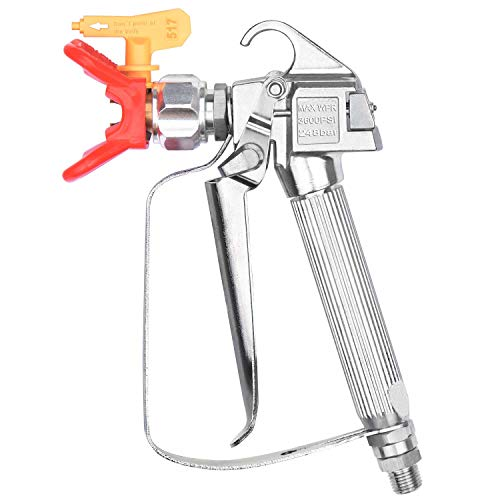 - JWGJW Airless Paint Spray Gun With 517 Tip for Graco Wagner Titan Sprayer