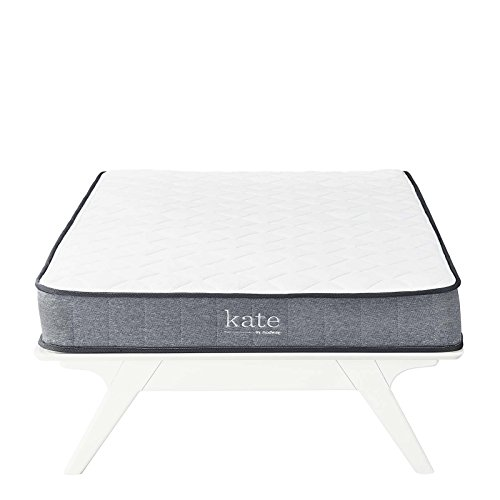 Modway Kate 6 Twin Innerspring Mattress - Firm Mattress For Kid Room - Perfect For Bunk Bed - Loft Bed - 10-Year Warranty
