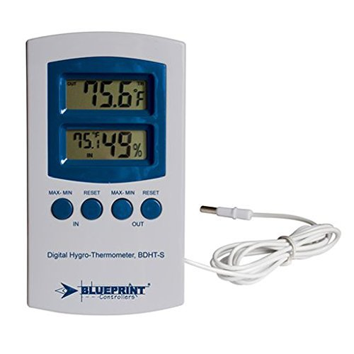 blueePrint Digital Hygro-Thermometer BDHT-S (Small) by BWGS