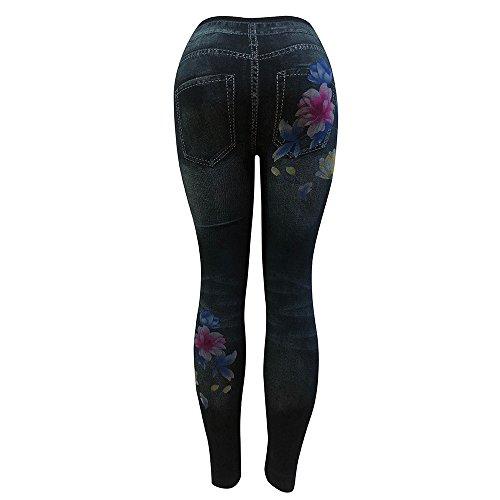 Yoga Nero Calzamaglie pants YanHoo donne Leggings Leggings jeans Pantaloni alta delle Donna Pantaloni elasticizzati Leggings Eleganti Maglia Skinny New denim vita sportivi Pantaloni matita donna Sport 7qx4wXtI