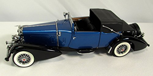 1933-duesenberg-j-victoria-car-124-scale-die-cast-model-franklin-mint-1991