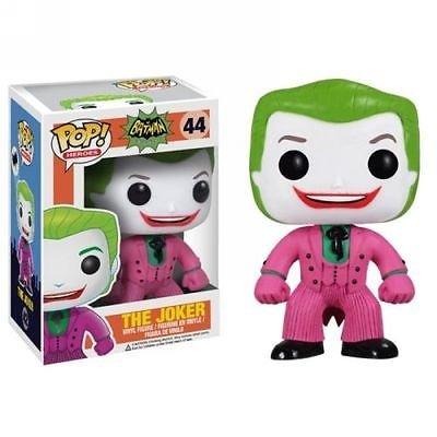 New Batman 1966 Tv Series the Joker 44 Pop! Vinyl Figure Action Toy