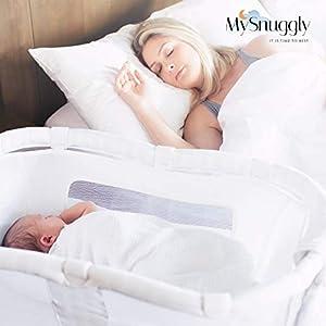 Newborn Bassinet Insert for Halo Bassinets   Safe Real Cuddling Feeling for Better Sleep   Patent Pending
