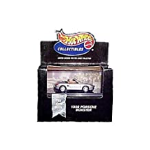 Hot Wheels Collectibles - Limited Edition Cool Collectibles - 1998 Porsche Boxster (Silver) - Mounted in Collector's Display Case
