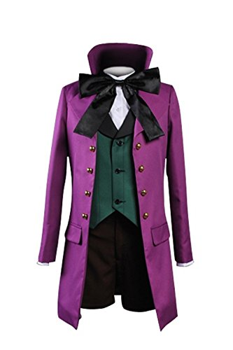 [Cosplaybar Black Butler 2 II Alois Trancy Cosplay Costume Tailor Made] (Black Butler Alois Costume)