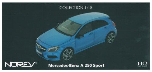 ノレブ 1/18 メルセデス ベンツ A250 スポーツ 2012 メタリックブルー 完成品の商品画像