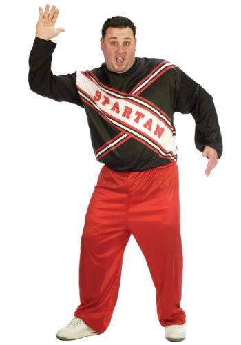 Spartan Adult Costumes - CHEERLEADER SPARTAN GUY PLUS