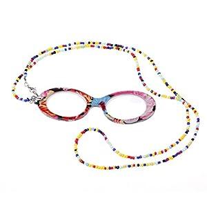 CHBC Reading Presbyopic Glasses Fashion Necklace Glasses Eyewear +1.0 To +4.0 Portable (+2.0)