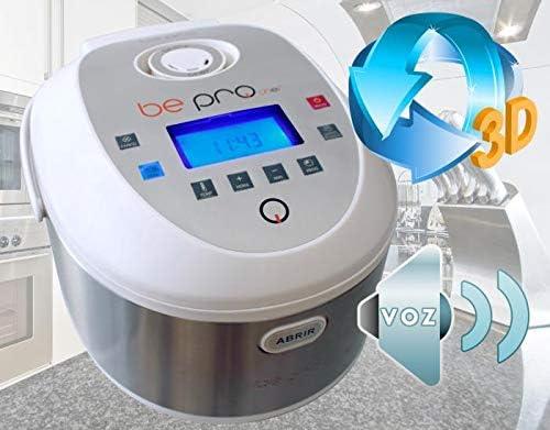 BUYGIFTS Robot | Robot de Cocina | Robot Cocina con Display LCD con Voz Bepro Chef | Robot Cocina 12 menús 5 litros: Amazon.es
