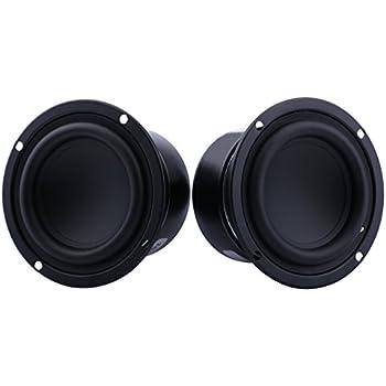 Amazon Com Yeeco Pack Of Two 3 Inch 8 Ohm 25w Mini Car Audio
