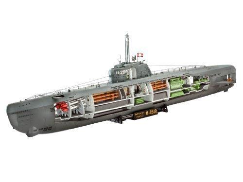 U-Boat Type XXI German Submarine w/Interior 1/144 Revell Germany by Revell