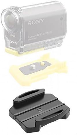 Mount & halter, 2 pcs Dz-S3 curvada superficie adhesivo Monte Pack para Acción de la cámara Sony: Amazon.es: Deportes y aire libre