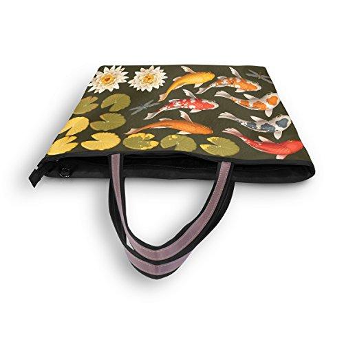 Para Mujer Multicolor Bolso Tela De Ahomy qF0SwR