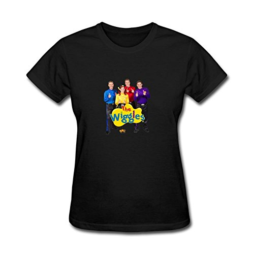 Billie Joe Halloween (ZHENGXING Women's The Wiggles Movie Logo Short Sleeve T-Shirt S)