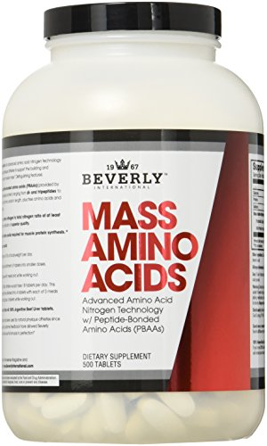 Beverly International Mass Aminos Tablets, 500 Count
