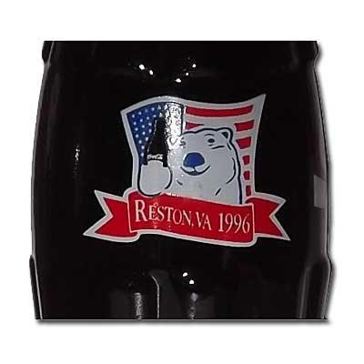 The Coca-Cola Collectors Club 22nd Convention Reston VA 1996 Bottle
